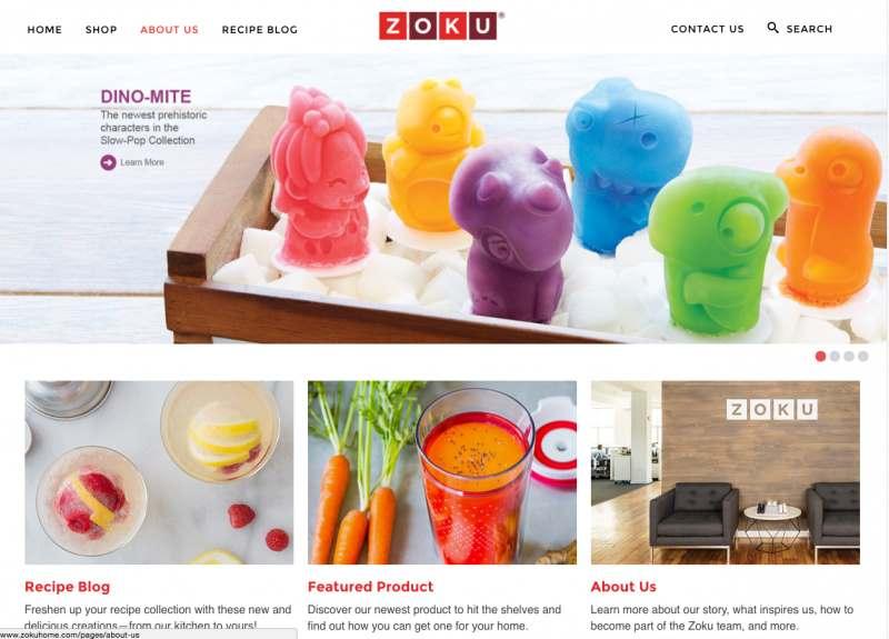Shopify site web